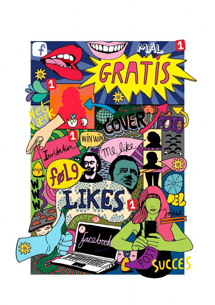 Kunsten at være kunstner på Facebook
